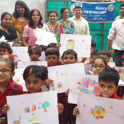 Art Competition by Rotary Club